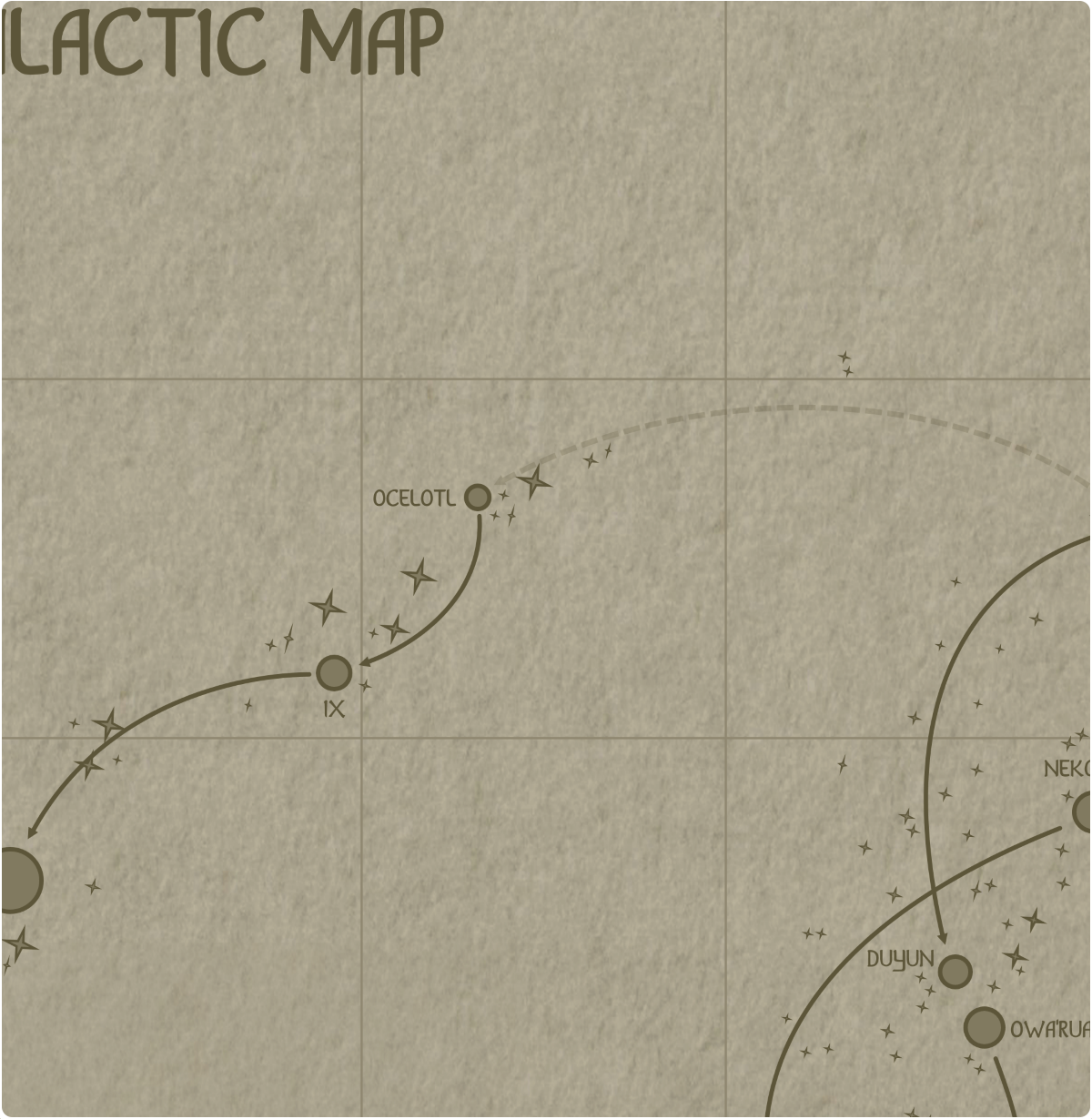 A paper map of galactic Sector C4