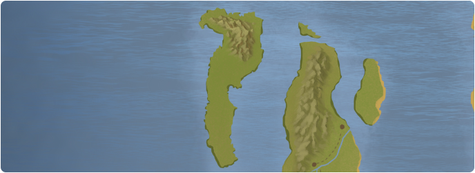 A color map of Aemalfi Island